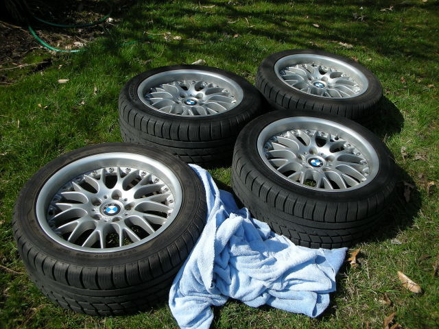 Spring Cleaning for the BMWs