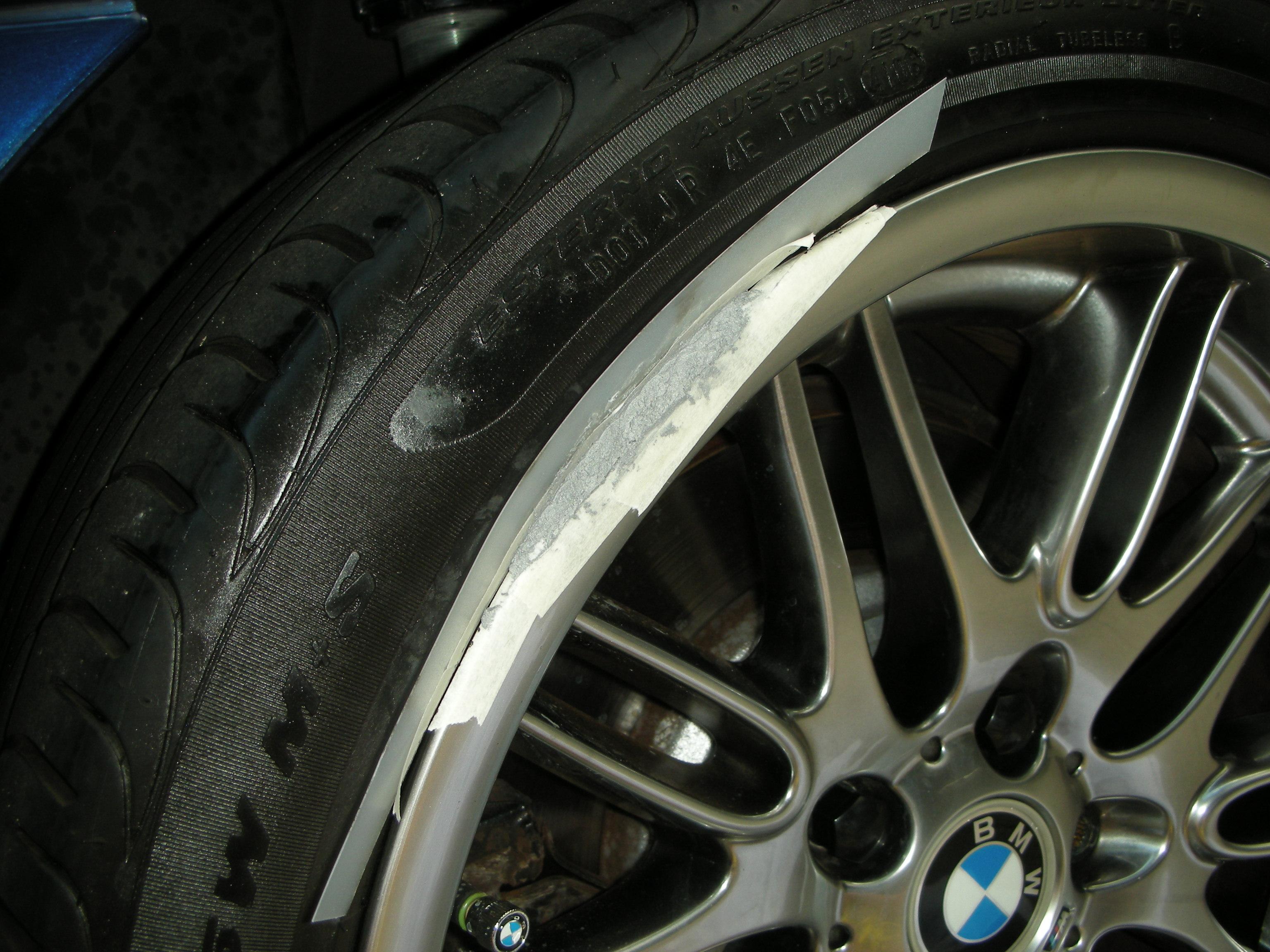 Curb Rash Repair On An E39 M5 Chrisparente Com