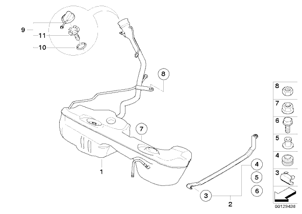 Bmw Gas Tank Diagram