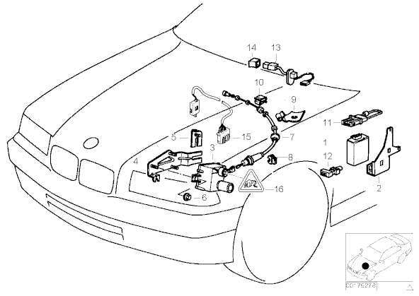 Dodge Viper Wire Harness Diagram furthermore RepairGuideContent besides Bmw Z3 Rear Axle Diagram additionally Problem Sa Rasvjetom I Podizacima Stakala U Golf 4 in addition Stereo. on bmw e46 alarm wiring diagram